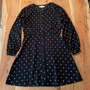 LOFT polka dot dress